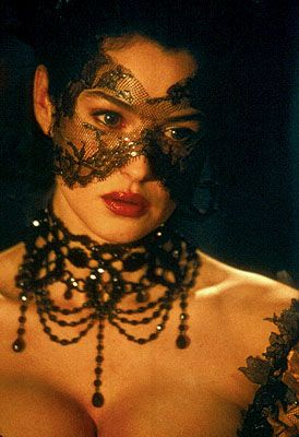 """Monica Belluci (from Brotherhood of the Wolf) as """"The Countess"""" as she might have seemed at the masked ball"""