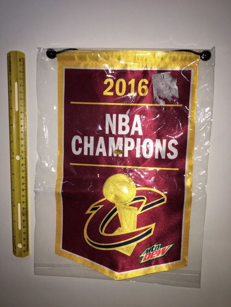 Cleveland Cavaliers NBA Mini-Banner Mountain Dew Giveaway 2016 Cavs Championship  | eBay