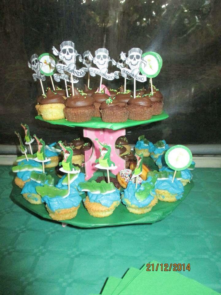 Mini cup cake peter pan