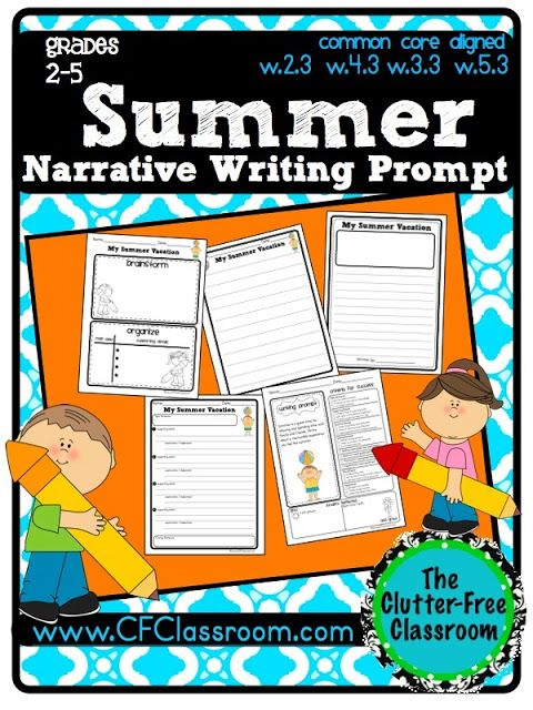 Summer Writing Activities for 2nd-5th Grade
