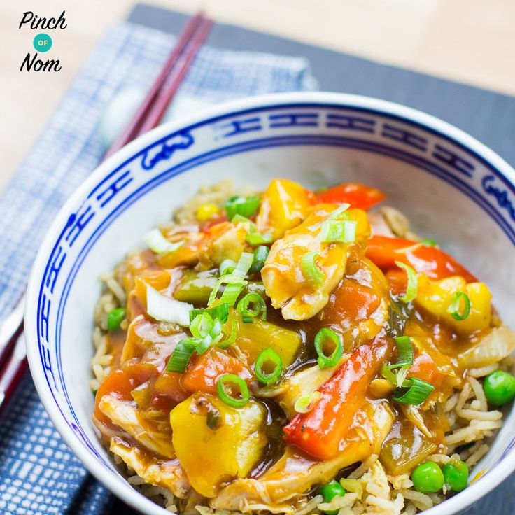 This Syn Free Instant Pot Sweet and Sour Chicken takes taste so good you'd think it came from the takeaway! You can make it in any slow cooker as well as using either the Slow cook or Pressure function of the . We're really big fans of our , and have it on the counter…