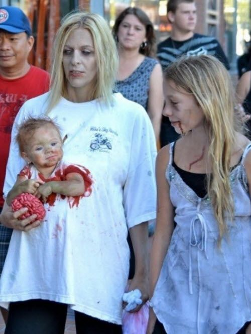 El mejor disfraz de zombie para Halloween