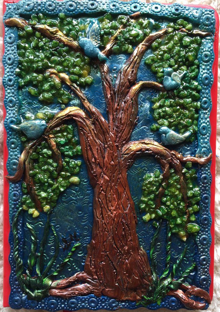 ARTIST Susan Mc Donald PINK BUBBLE ART CREATOR POLYMER CLAY AND MIXED MEDIA JOURNAL