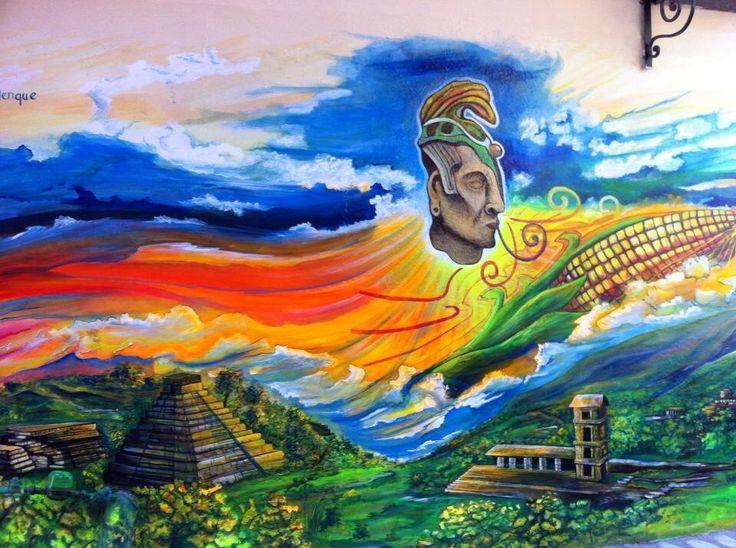 Puerto Vallarta wall mural in Zona Romantico