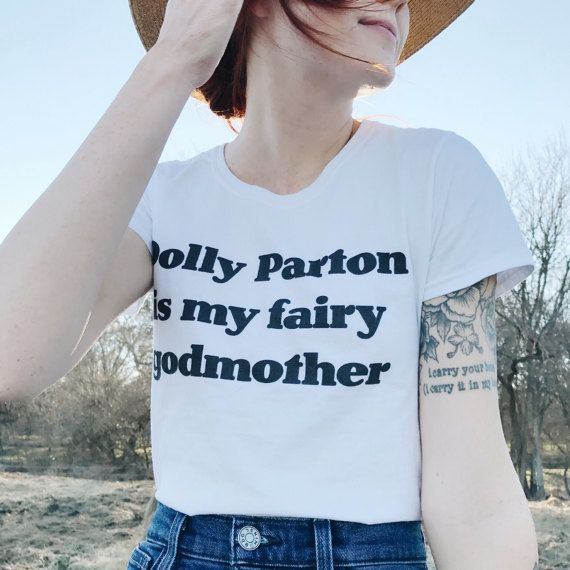Dolly Parton Is My Fairy Godmother T-Shirt, Dolly Parton Shirt, Country Music, Jolene Shirt, Concert Shirt, Women Of Music