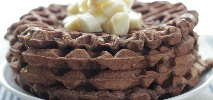 Chocolate Banana Waffles: Easy and Allergy-Friendly!