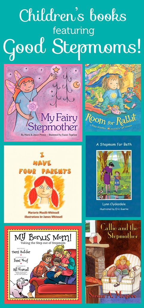 Repin to spread the stepmom love! Click for links to the books.