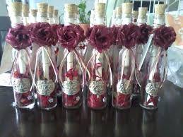 Resultado de imagen para invitaciones en botellas
