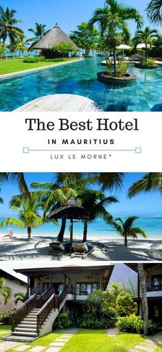 Lux Le Morne Hotel Review. In our eyes the best 5 Star Resort in Mauritius. A great honeymoon destination on a dreamy island.