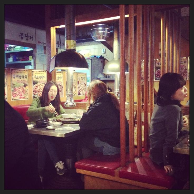 Korean BBQ Restaurant Gangnam Seoul by DesignClaud