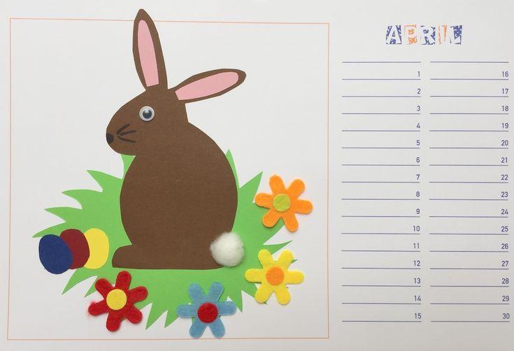 Gestaltung eines Dauerkalenders / Bastelkalenders in Werken und Gestalten in der Grundschule: Monat Dezember