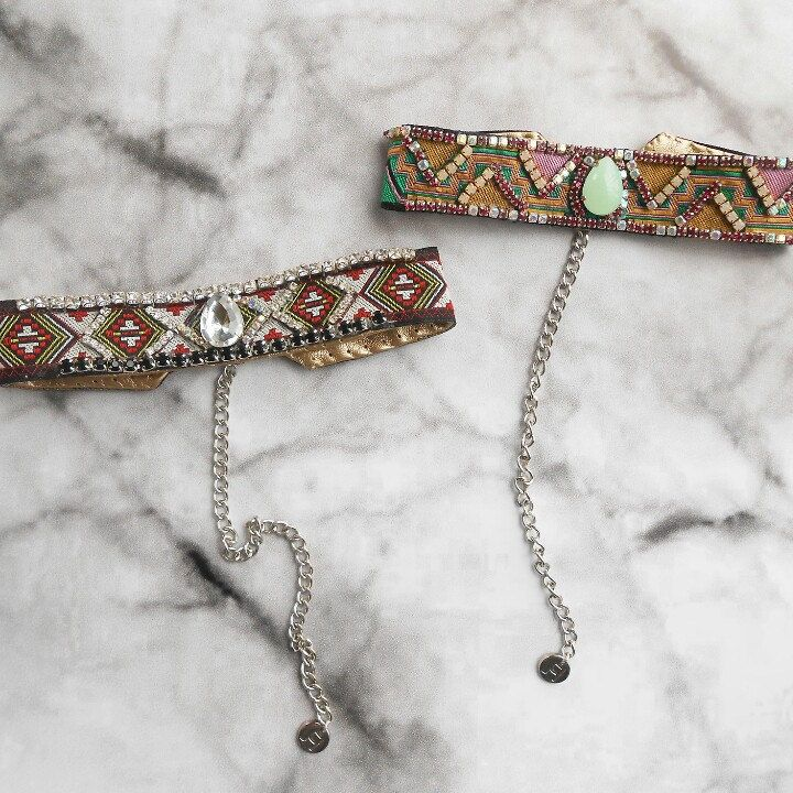 In love with these #chokers p.s. follow us on Instagram➡lanchejewelry