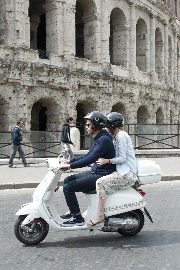Emma Stone&Andrew Garfield in Rome