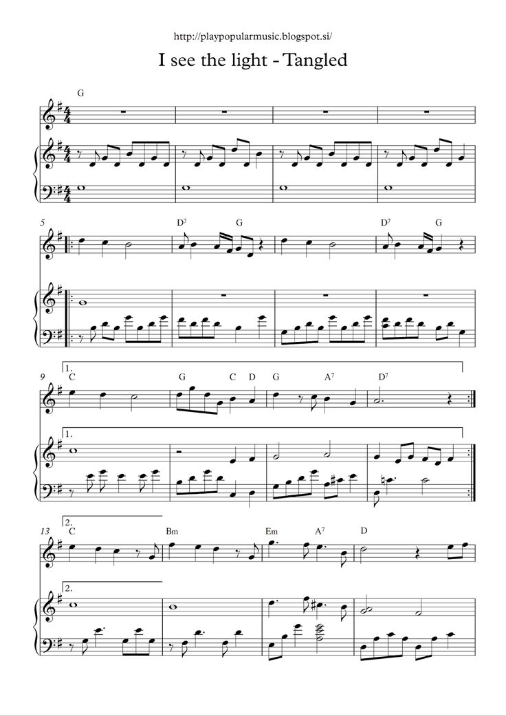 Piano i see the light piano sheet music : 47 best pop nuty images on Pinterest | Music sheets, Sheet music ...