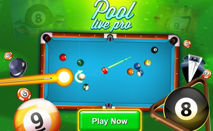 Free Pool Live Pro game for everybody! This is the most authentic pool games featuring realistic table physics, precision aiming, top notch graphics and a variety of game modes. Compete with other online opponents from all over the world!