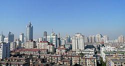 wuxi downtown skyline 无锡的风景