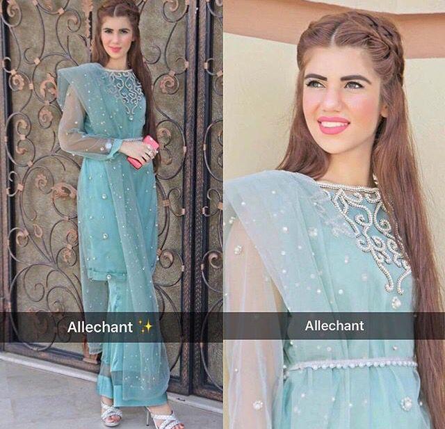Pakistani couture Allechant
