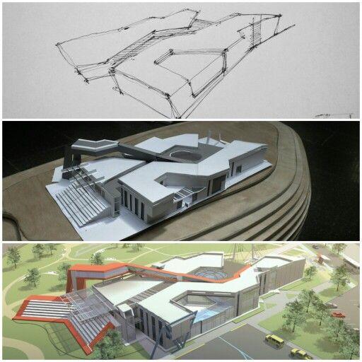 Fine Architecture Design Sketches Concept Of Arch Idea More And Inspiration