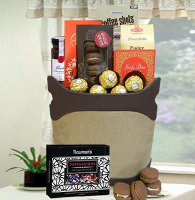 54 best gift hampers images on pinterest gift hampers bridal tasty treats gift hamper 69 negle Image collections