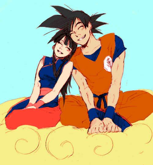 And chichi kid apart goku chi years chi