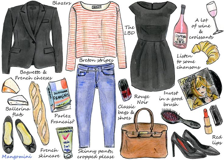 How To Live Like A French Girl @Laura Rodriguez this is perfect!