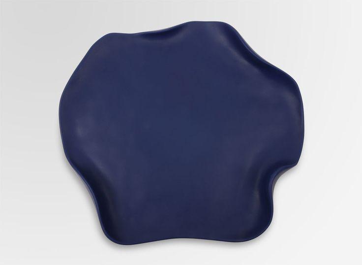 Dinosaur Designs AU Store - Medium Resin Flower Platter - Deep Blue, AUD150.00 (http://www.dinosaurdesigns.com.au/medium-resin-flower-platter-deep-blue/)