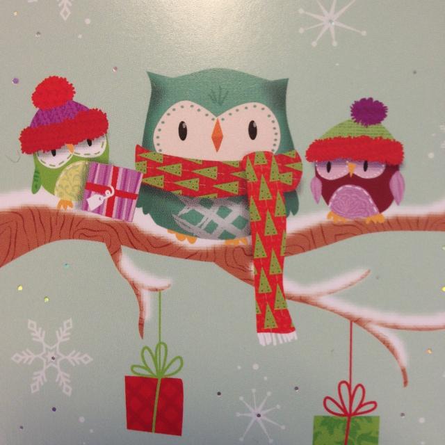 Whooo! cute owls
