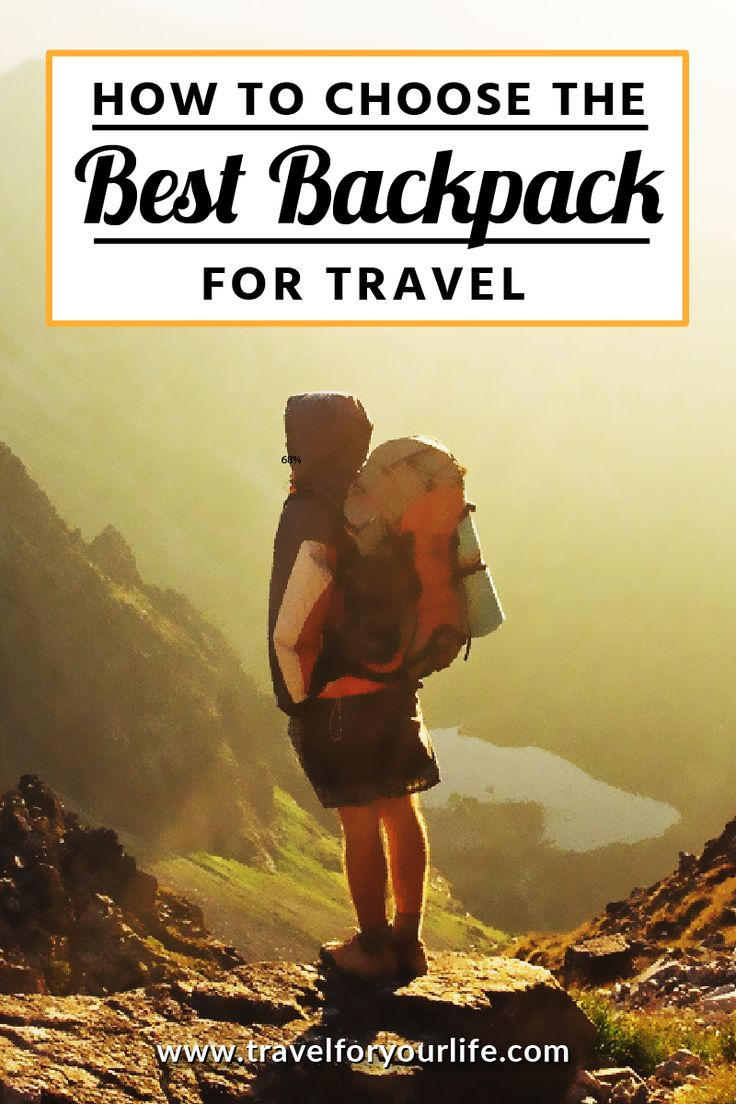 Travel Tips | How To Choose The Best Backpack For Travel Choosing the best travel backpack is one of the most important decisions you will make when preparing for your trip. I strongly suggest, for your own sanity, that you travel with a backpack rather than a suitcase unless you are planning on staying in one location for the whole time you're away.