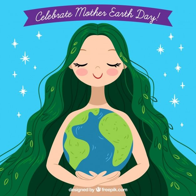 Download Hand Drawn Background Celebrate Mother Earth Day For Free
