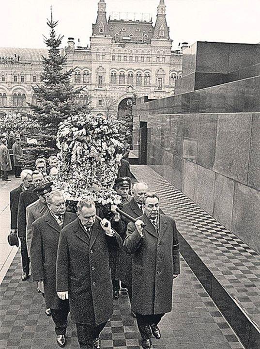 GAGARIN YURI boy Russian - The FIRST COSMONAUT PLANET. Funeral Of Yuri Gagarin