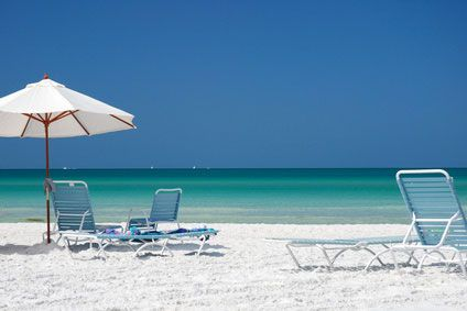 Siesta Key, Florida  beautiful water, whitest sand in the nation!