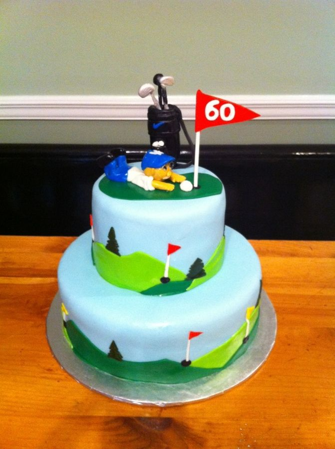 Golf Themed Cake Images : 1000+ ideas about Golf Birthday Cakes on Pinterest Golf ...
