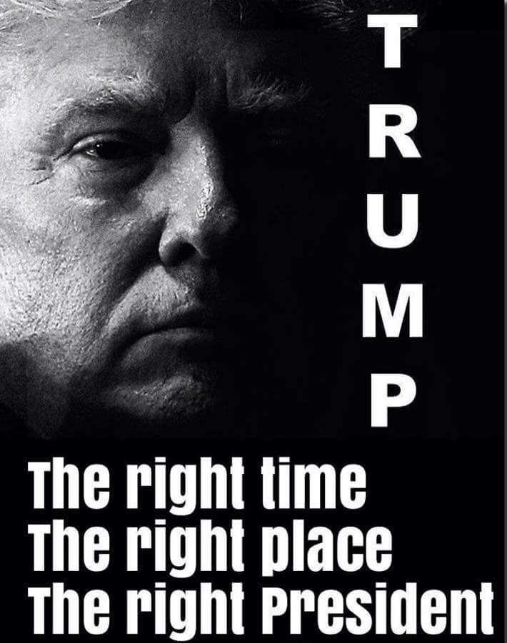Yes!  God bless President Trump