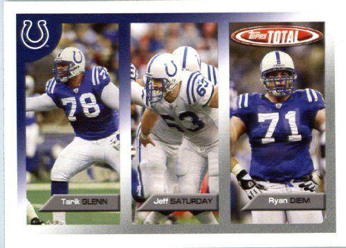 jeff saturday football card | Total Football Card (In protective Screwdown Case) # 38 Jeff Saturday ...