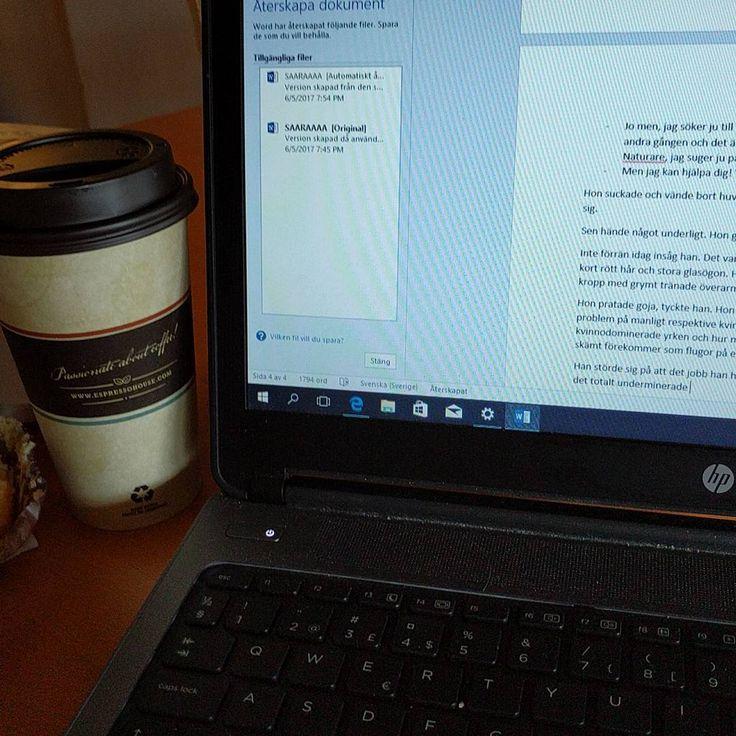 #skriver #skrivenbok #författare #författardrömmar  John tränar och jag passar på. http://misstagram.com/ipost/1542911243396143376/?code=BVphZnmlVkQ