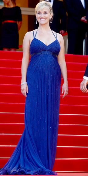 Reese Witherspoon sparkled in a crystal-studded Atelier Versace gown and Chopard diamonds at the Cannes Film Festival premiere of Mud.
