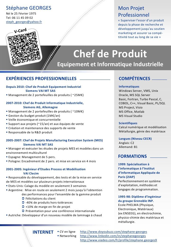 Exemple de CV ingenieur en construction navale
