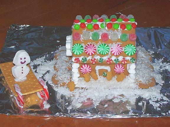 Creative ideas for decorating gingerbread house