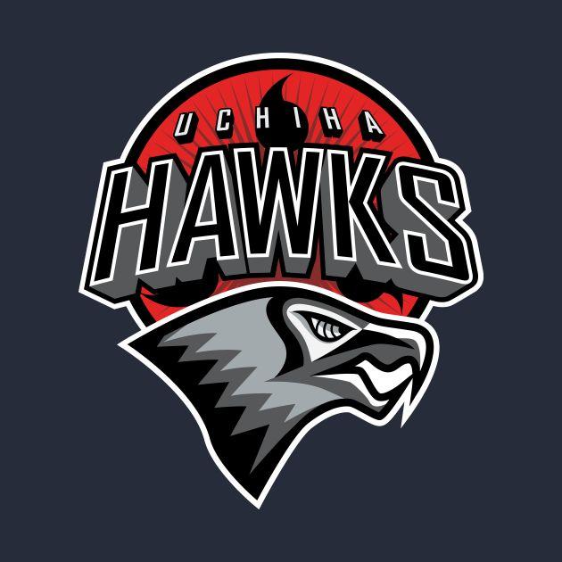 Awesome 'Uchiha+Hawks' design on TeePublic!