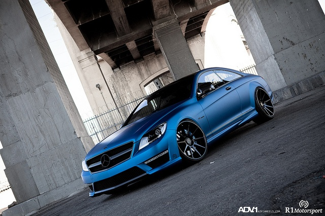Mercedes CL63 AMG ADV10 Deep Concave by ADV1WHEELS