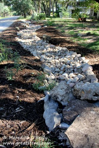 Decorative Yard Drainage : Best drainage ditch ideas on pinterest dry creek