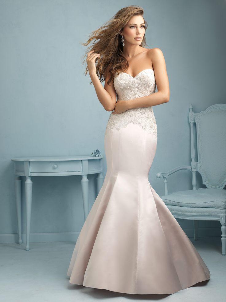 51 best ALLURE BRIDAL images on Pinterest | Short wedding gowns ...