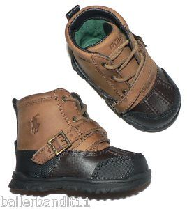 baby shoes | Polo Ralph Lauren Infant Baby Crib Shoes Tavin Boots | eBay