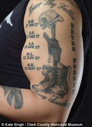 Military tattoo - the idea of this one