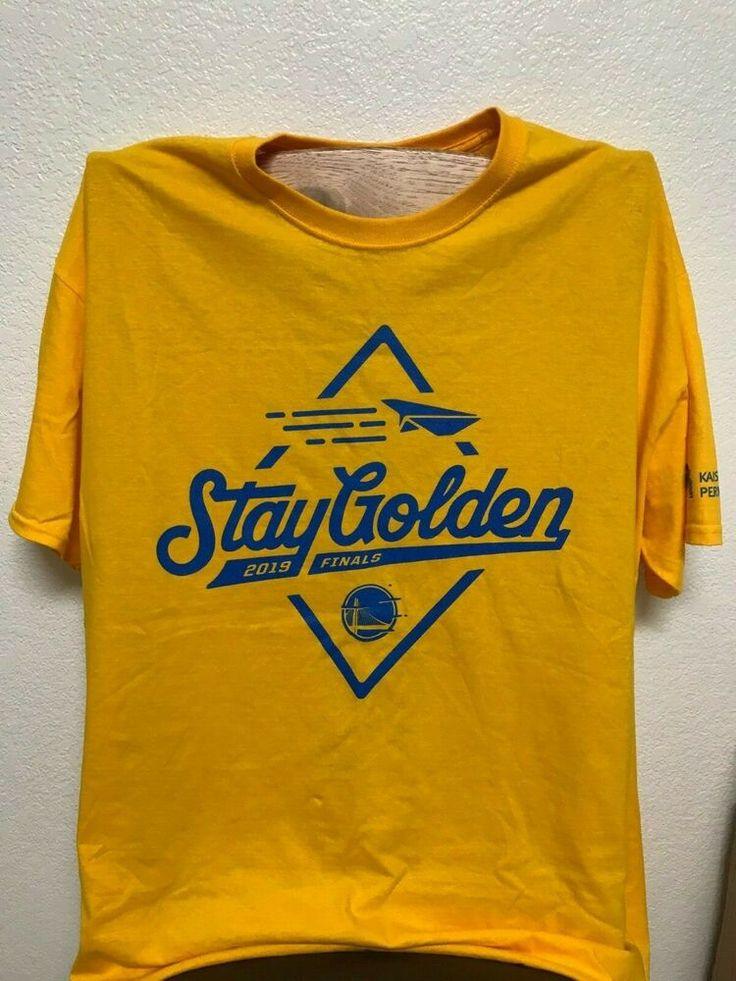 Golden State Warriors 2019 NBA Finals Stay Golden T Shirt Li
