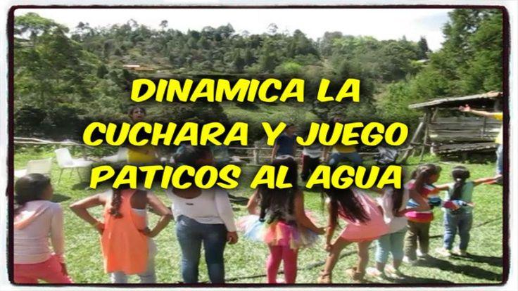 DINAMICAS PARA CUMPLEAÑOS LA CUCHARA Y PATICOS AL AGUA