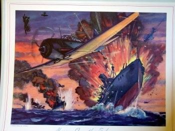 1942 WWII US Marines Richard Mangrum Solomon by 4wheeldreams, $34.95