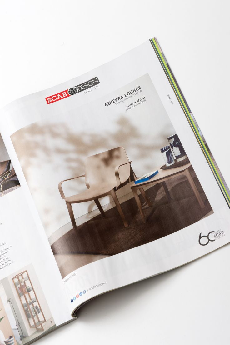 SCAB Design on Living Magazine