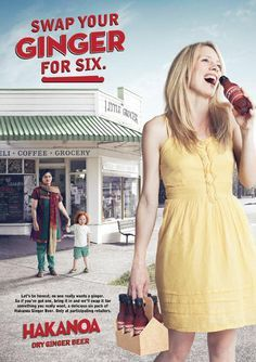 Ginger Beer Ad Offers You A Six-Pack In Exchange For Your Ugly Redheaded Kid