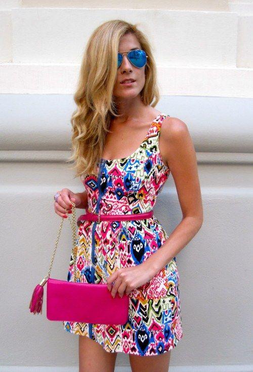 vestidos cortos casuales para verano
